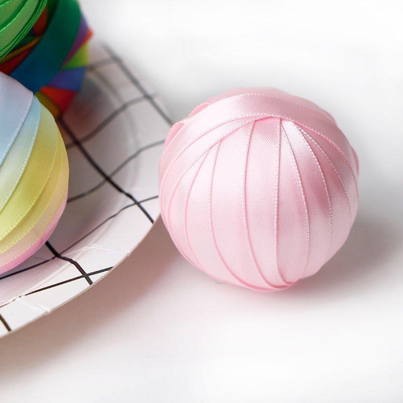 思蜜丝ribbon手工diy复活节彩虹装饰球配件批发定制